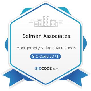 Selman Associates - SIC Code 7371 - Computer Programming Services