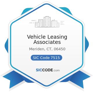 Vehicle Leasing Associates - SIC Code 7515 - Passenger Car Leasing