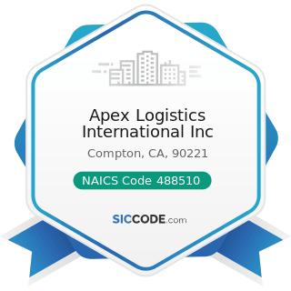 Apex Logistics International Inc - NAICS Code 488510 - Freight Transportation Arrangement