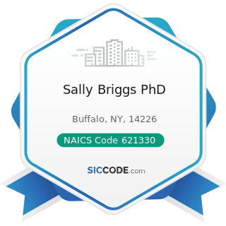 Sally Briggs PhD - NAICS Code 621330 - Offices of Mental Health Practitioners (except Physicians)