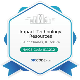 Impact Technology Resources - NAICS Code 811212 - Computer and Office Machine Repair and...