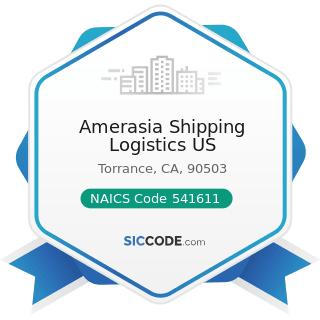 Amerasia Shipping Logistics US - NAICS Code 541611 - Administrative Management and General...