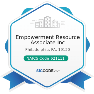 Empowerment Resource Associate Inc - NAICS Code 621111 - Offices of Physicians (except Mental...
