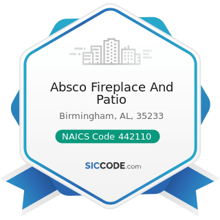 Absco Fireplace And Patio - NAICS Code 442110 - Furniture Stores