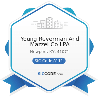 Young Reverman And Mazzei Co LPA - SIC Code 8111 - Legal Services