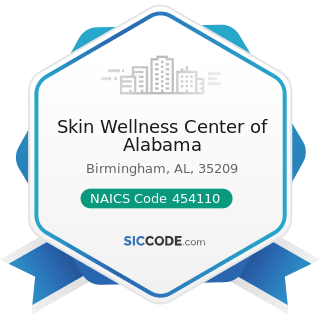 Skin Wellness Center of Alabama - NAICS Code 454110 - Electronic Shopping and Mail-Order Houses