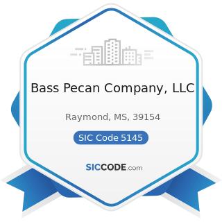 Bass Pecan Company, LLC - SIC Code 5145 - Confectionery