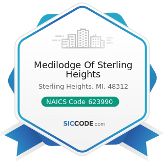 Medilodge Of Sterling Heights - NAICS Code 623990 - Other Residential Care Facilities