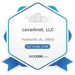 Leverknot, LLC - SIC Code 2298 - Cordage and Twine