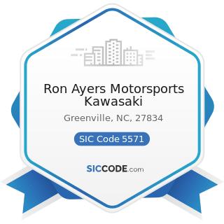 Ron Ayers Motorsports Kawasaki - SIC Code 5571 - Motorcycle Dealers
