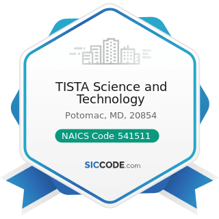 TISTA Science and Technology - NAICS Code 541511 - Custom Computer Programming Services