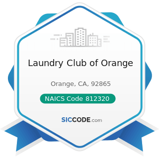Laundry Club of Orange - NAICS Code 812320 - Drycleaning and Laundry Services (except...