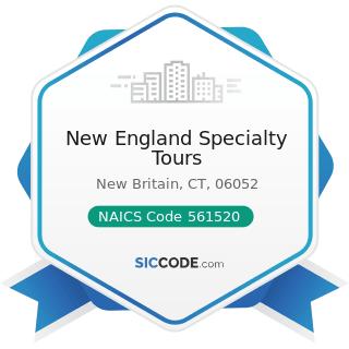 New England Specialty Tours - NAICS Code 561520 - Tour Operators