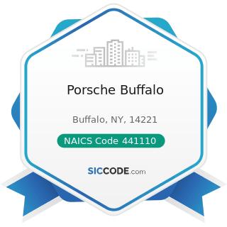 Porsche Buffalo - NAICS Code 441110 - New Car Dealers