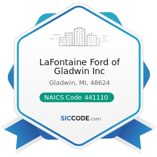 LaFontaine Ford of Gladwin Inc - NAICS Code 441110 - New Car Dealers