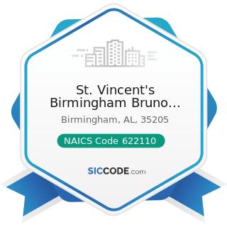 St. Vincent's Birmingham Bruno Conference Center - NAICS Code 622110 - General Medical and...
