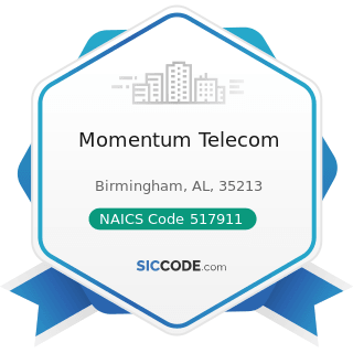 Momentum Telecom - NAICS Code 517911 - Telecommunications Resellers