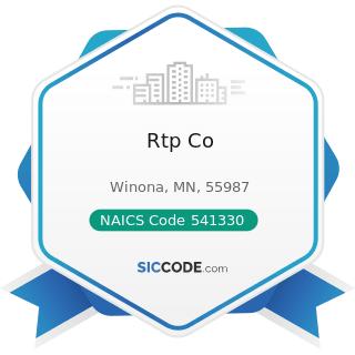 Rtp Co - NAICS Code 541330 - Engineering Services