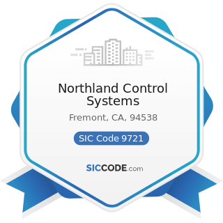Northland Control Systems - SIC Code 9721 - International Affairs
