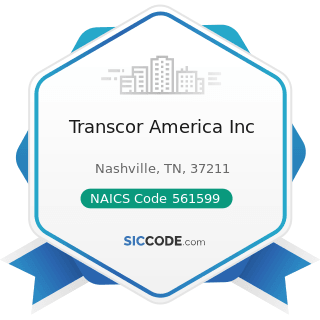 Transcor America Inc - NAICS Code 561599 - All Other Travel Arrangement and Reservation Services