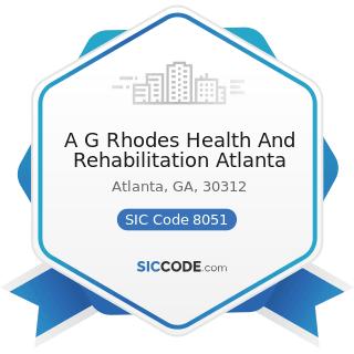 A G Rhodes Health And Rehabilitation Atlanta - SIC Code 8051 - Skilled Nursing Care Facilities