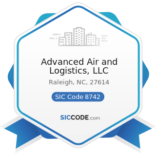 Advanced Air and Logistics, LLC - SIC Code 8742 - Management Consulting Services