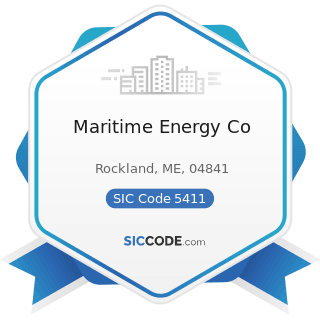 Maritime Energy Co - SIC Code 5411 - Grocery Stores
