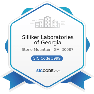 Silliker Laboratories of Georgia - SIC Code 3999 - Manufacturing Industries, Not Elsewhere...