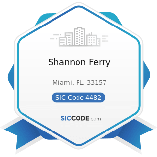 Shannon Ferry - SIC Code 4482 - Ferries