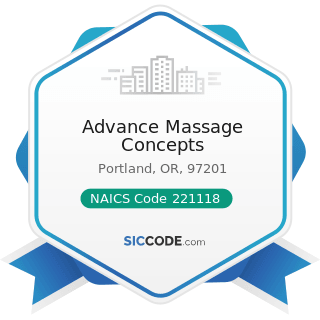 Advance Massage Concepts - NAICS Code 221118 - Other Electric Power Generation