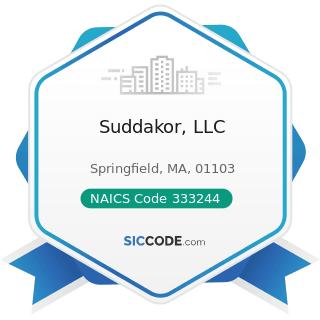 Suddakor, LLC - NAICS Code 333244 - Printing Machinery and Equipment Manufacturing