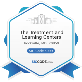 The Treatment and Learning Centers - SIC Code 5999 - Miscellaneous Retail Stores, Not Elsewhere...