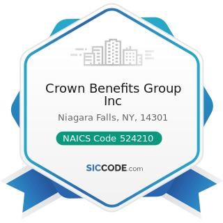 Crown Benefits Group Inc - NAICS Code 524210 - Insurance Agencies and Brokerages