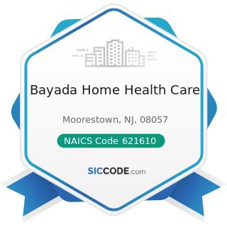 Bayada Home Health Care - NAICS Code 621610 - Home Health Care Services
