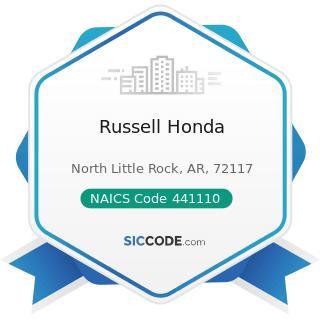 Russell Honda - NAICS Code 441110 - New Car Dealers