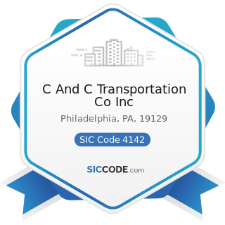 C And C Transportation Co Inc - SIC Code 4142 - Bus Charter Service, except Local