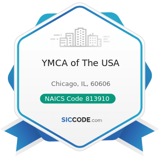 YMCA of The USA - NAICS Code 813910 - Business Associations