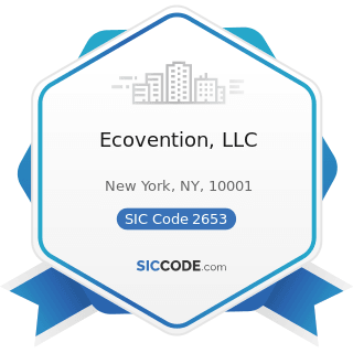 Ecovention, LLC - SIC Code 2653 - Corrugated and Solid Fiber Boxes