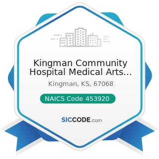 Kingman Community Hospital Medical Arts Center - NAICS Code 453920 - Art Dealers