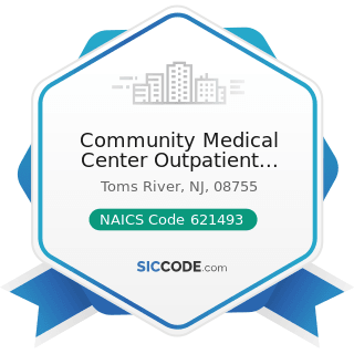 Community Medical Center Outpatient Laboratory Toms River - NAICS Code 621493 - Freestanding...