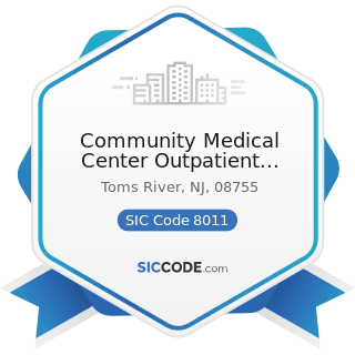 Community Medical Center Outpatient Laboratory Toms River - SIC Code 8011 - Offices and Clinics...