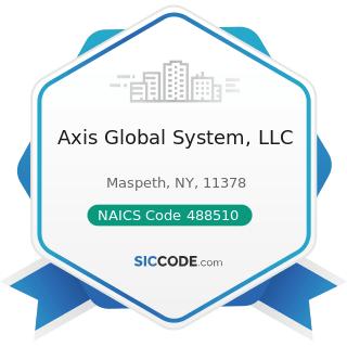 Axis Global System, LLC - NAICS Code 488510 - Freight Transportation Arrangement