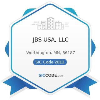 JBS USA, LLC - SIC Code 2011 - Meat Packing Plants