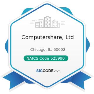 Computershare, Ltd - NAICS Code 525990 - Other Financial Vehicles