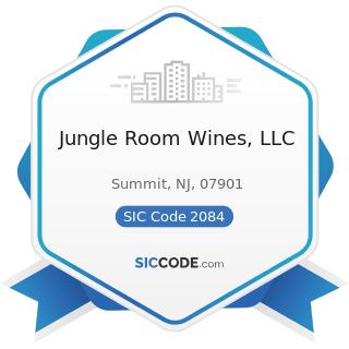 Jungle Room Wines, LLC - SIC Code 2084 - Wines, Brandy, and Brandy Spirits