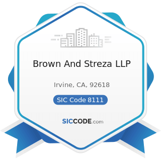 Brown And Streza LLP - SIC Code 8111 - Legal Services