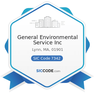 General Environmental Service Inc - SIC Code 7342 - Disinfecting and Pest Control Services