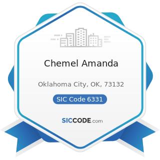 Chemel Amanda - SIC Code 6331 - Fire, Marine, and Casualty Insurance