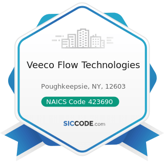 Veeco Flow Technologies - NAICS Code 423690 - Other Electronic Parts and Equipment Merchant...