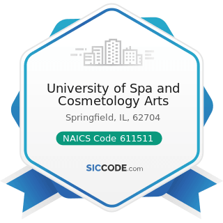 University of Spa and Cosmetology Arts - NAICS Code 611511 - Cosmetology and Barber Schools